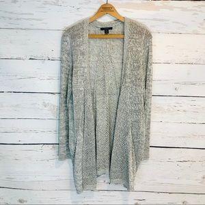 { Tahari } Knit Cardigan Sweater